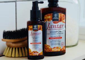 Odżywak i szampon do włosów Jantar