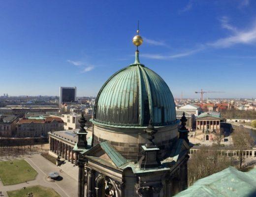 Widok z kopuły katedry berlinskiej