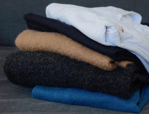 Ubrania z naturalnych tkanin