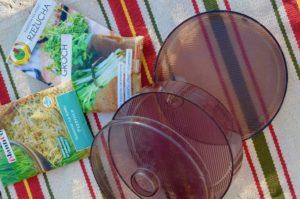 Kiełkownica i nasiona do kiełkowania